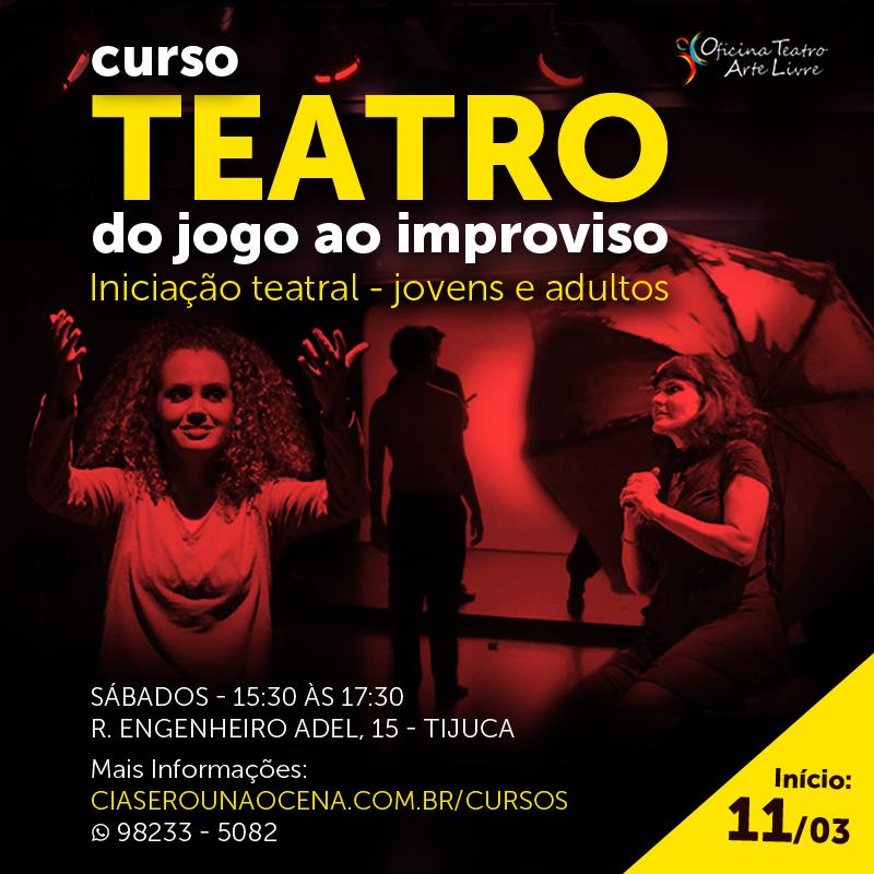 Curso Teatro Tijuca – Do Jogo Ao Improviso
